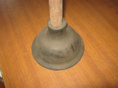 A plunger is probably the most used tool to clear up blocked drains.