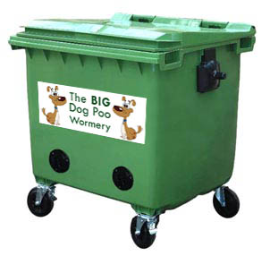 Worms compost dog poo